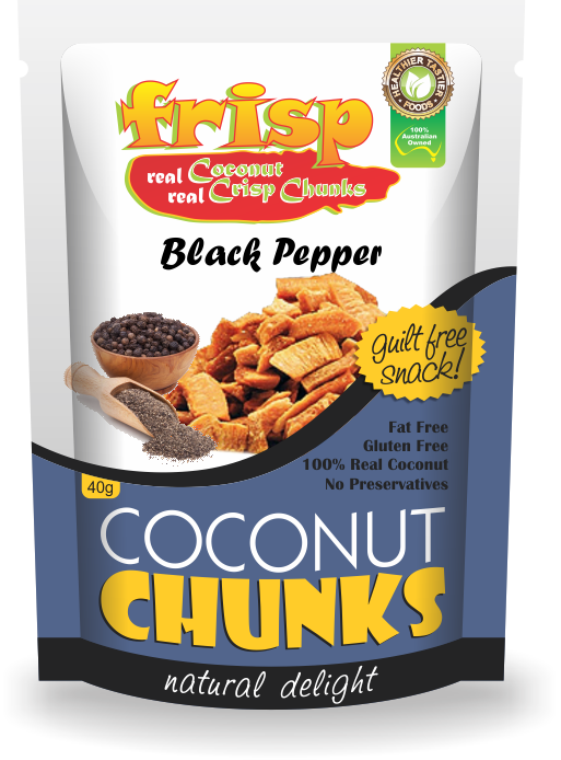 Coconut black pepper Chunks