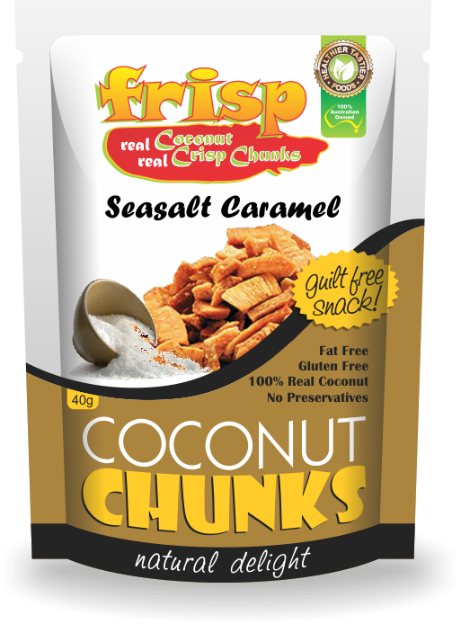 Coconut seasalt caramel Chunks