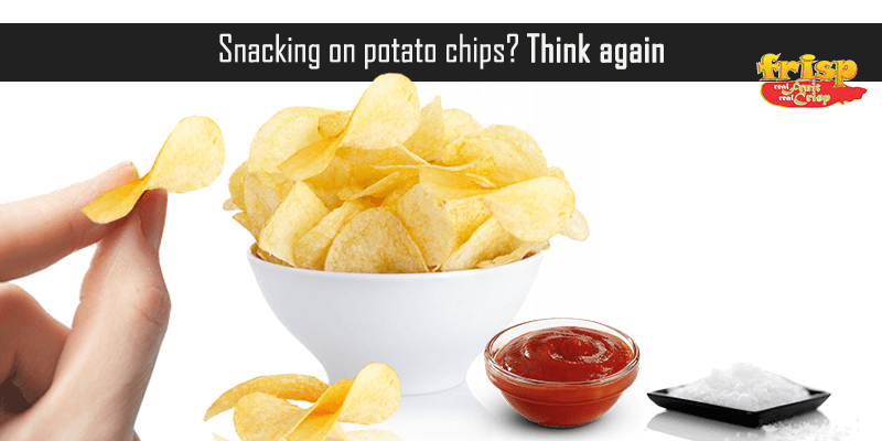 Snacking on potato chips? Think again